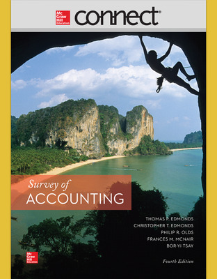 Connect 1-Semester Online Access for Survey of Accounting