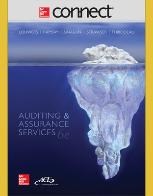 Connect 2-Semester Online Access for Auditing & Assurance Services