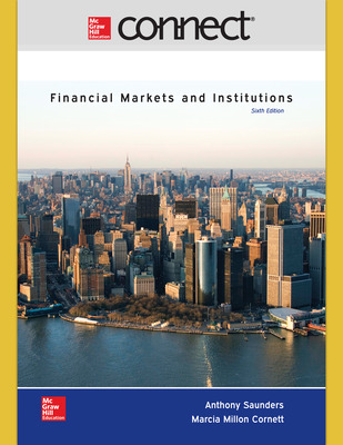 Connect 1-Semester Online Access for Financial Markets and Institutions