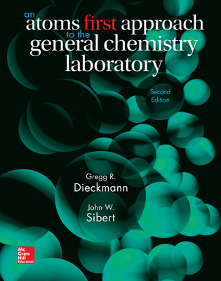 Lab Manual for Chemistry: Atoms First