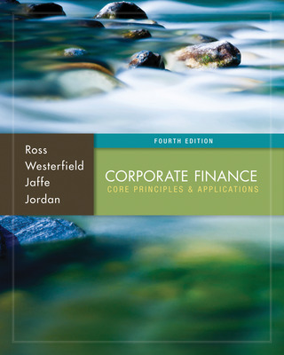 Premium Content Online Access for Corporate Finance: Core Principles and Applications