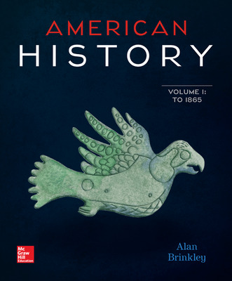American History: Connecting with the Past Volume 1