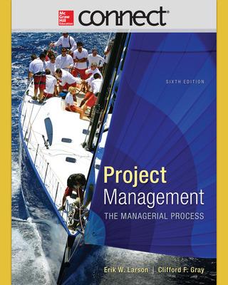 Connect 1-Semester Online Access for Larson, Project Management, 6e