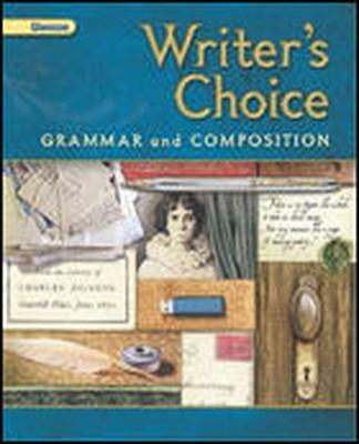 Writer's Choice © 2001, Grade 11, Interactive Tutor Self-Assessment CD-ROM