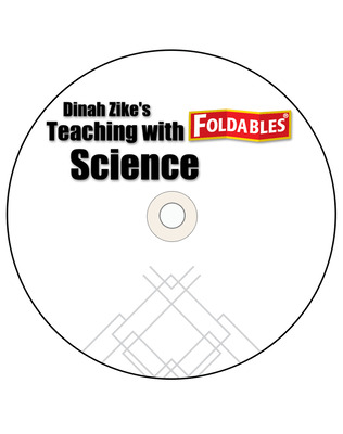 Glencoe iScience, Level Blue, Grade 8, Dinah Zike's Teaching Science with Foldables CD-ROM