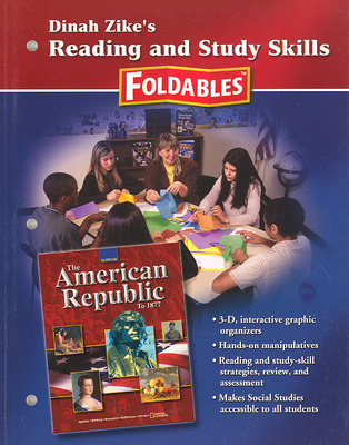 American Republic to 1877, Reading and Study Skills Foldables