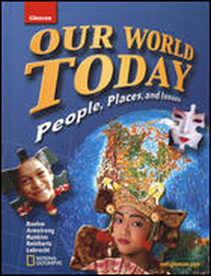 Our World Today, Map Overlay Transparencies Strategies and Activities