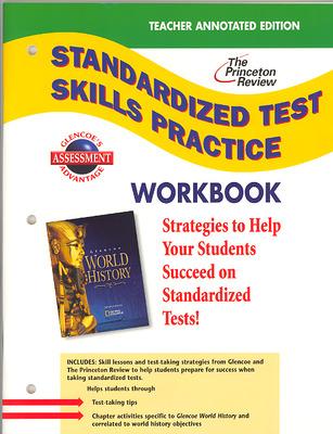 Glencoe World History, Standardized Test Practice Workbook, Teacher Edition