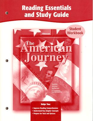 AMERICAN JOURNEY READING ESSENTIALS AND STUDY GUIDE STUDENT WORKBOOK 2003