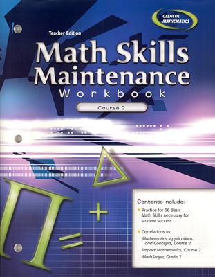 Math Skills Maintenance Workbook: Course 2, Teacher Edition