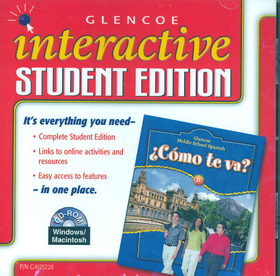 ¿Cómo te va? Level B Nivel azul, Interactive Student Edition CD-ROM