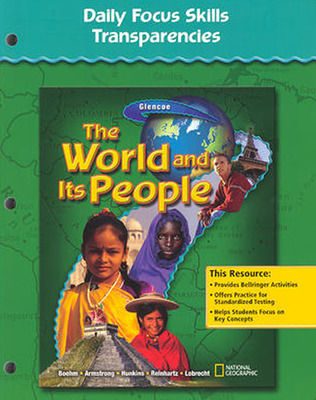 The World and Its People, Daily Focus Skills Transparencies