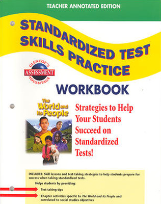The World and Its People: Western Hemisphere, Europe, and Russia, Standardized Test Practice Workbook, Teacher Edition