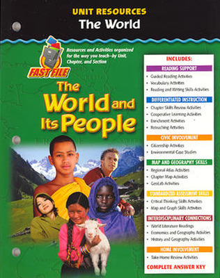 The World and Its People: Western Hemisphere, Europe, and Russia, The World Resource Book