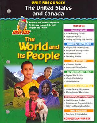 The World and Its People: Western Hemisphere, Europe, and Russia, The United States and Canada Resource Book