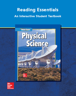 Glencoe Physical iScience, Grade 8, Reading Essentials, Student Edition