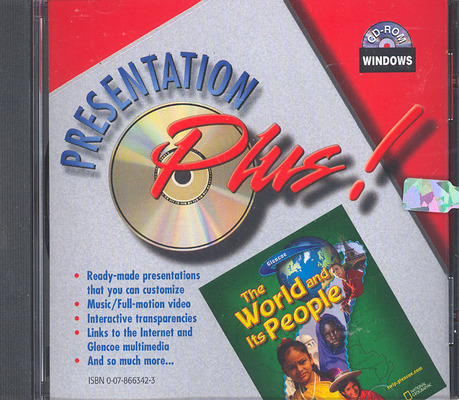 The World and Its People, Presentation Plus! CD-ROM, Win