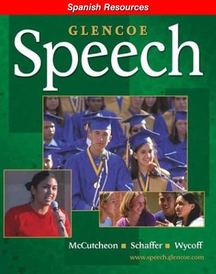 Glencoe Speech, Spanish Resources