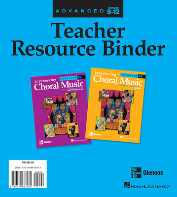 Experiencing Choral Music, Advanced Teacher Resource Binder