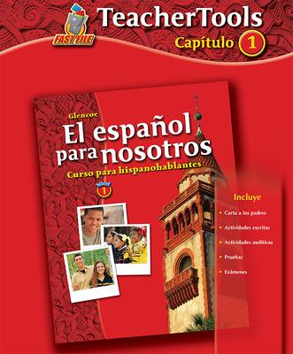 El español para nosotros: Curso para hispanohablantes Level 1, TeacherTools Chapter 1