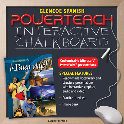 ¡Buen viaje! Level 3, PowerTeach Interactive Chalkboard CD-ROM