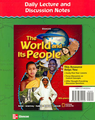 The World and Its People: Eastern Hemisphere, Daily Lecture and Discussion Notes