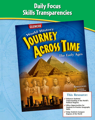 Journey Across Time, Early Ages, Daily Focus Skills, Transparencies Booklet