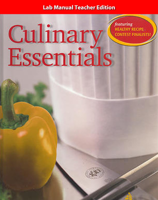 Culinary Essentials, Lab Manual, Instructor's Annotated Edition
