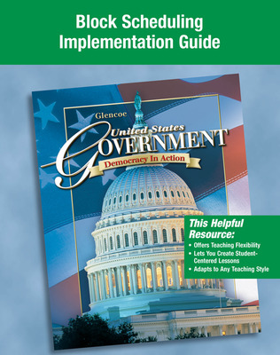 United States Government: Democracy in Action, Block Scheduling Implementation Guide