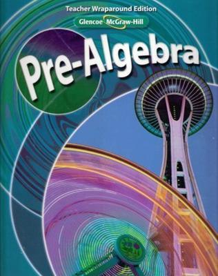 Pre-Algebra, Teacher Wraparound Edition