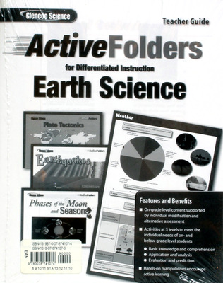 Glencoe Earth iScience Modules: Earth Materials and Processes, Grade 6, Active Folders for Differentiated Instruction
