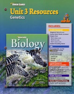 Glencoe Biology, Unit 3 Fast Files