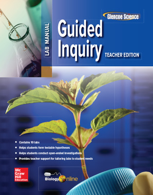 Glencoe Biology, Guided Inquiry, Teacher Edition