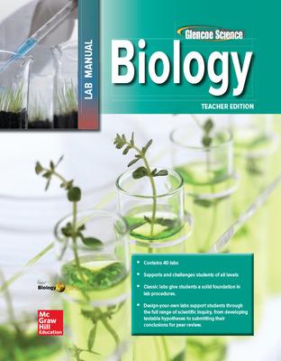 Glencoe Biology, Laboratory Manual, Teacher Edition