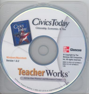 Civics Today: Citizenship, Economics & You, TeacherWorks™ CD-ROM