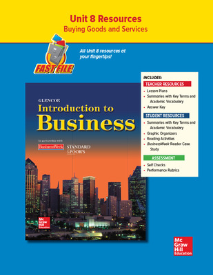 Introduction To Business, Unit 8, Fast File
