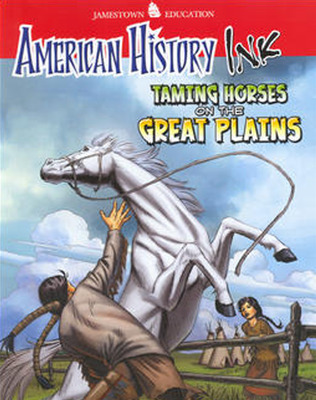 American History Ink Taming Horses on the Great Plains
