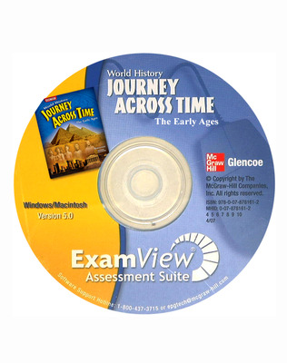 Journey Across Time, Early Ages, ExamView Assessment Suite CD-ROM