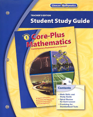 CORE-PLUS MATHEMATICS COURSE 1 STUDENT STUDY GUIDE Teacher's EDITION'