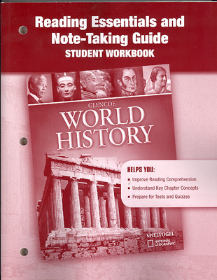Glencoe World History, Reading Essentials and Note-Taking Guide