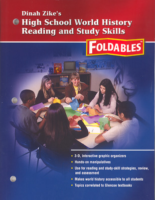 Social Studies, High School World History Reading and Study Skills Foldables