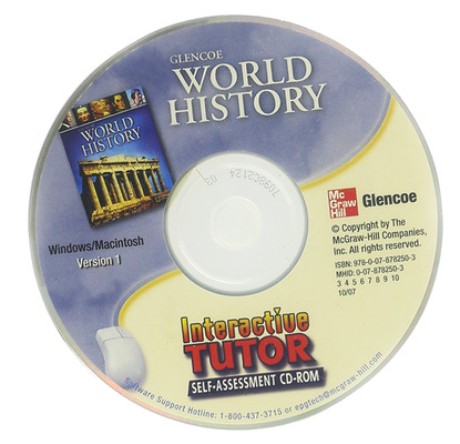 Glencoe World History, Interactive Tutor: Self-Assessment CD-ROM