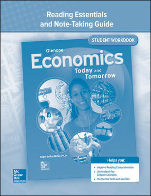 Economics: Today and Tomorrow,  Reading Essentials and Note-Taking Guide