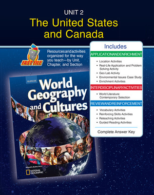 World Geography and Cultures, Unit Resources 2