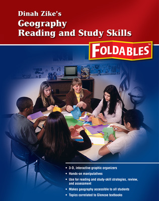 World Geography and Cultures, High School World Geography Reading and Study Skills Foldables
