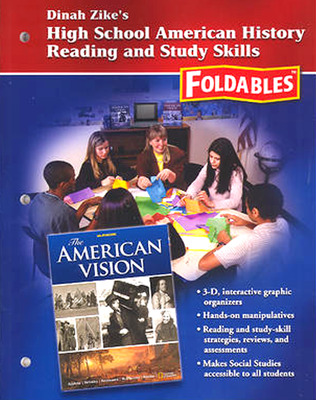 Social Studies, High School American History Reading and Study Skills Foldables