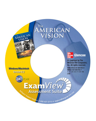 The American Vision, ExamView Pro Assessment Suite