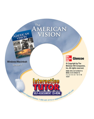 The American Vision, Interactive Tutor: Self-Assessment CD-ROM