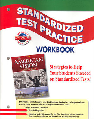 The American Vision: Modern Times, Standardized Test Practice Workbook