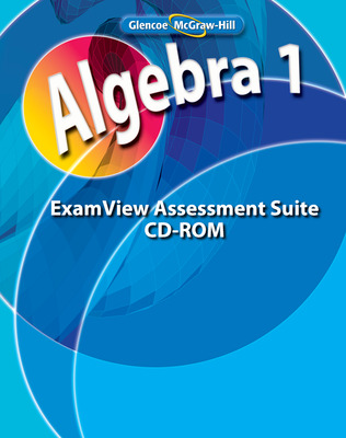 Algebra 1, ExamView Assessment Suite CD-ROM